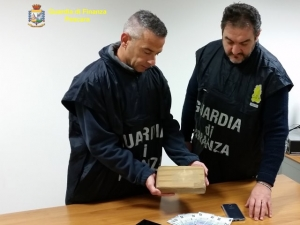 Spoltore, sequestrato un kg di cocaina.