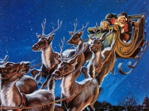 Babbo Natale Con Le Renne Immagini.Babbo Natale E Il Segreto Delle Renne